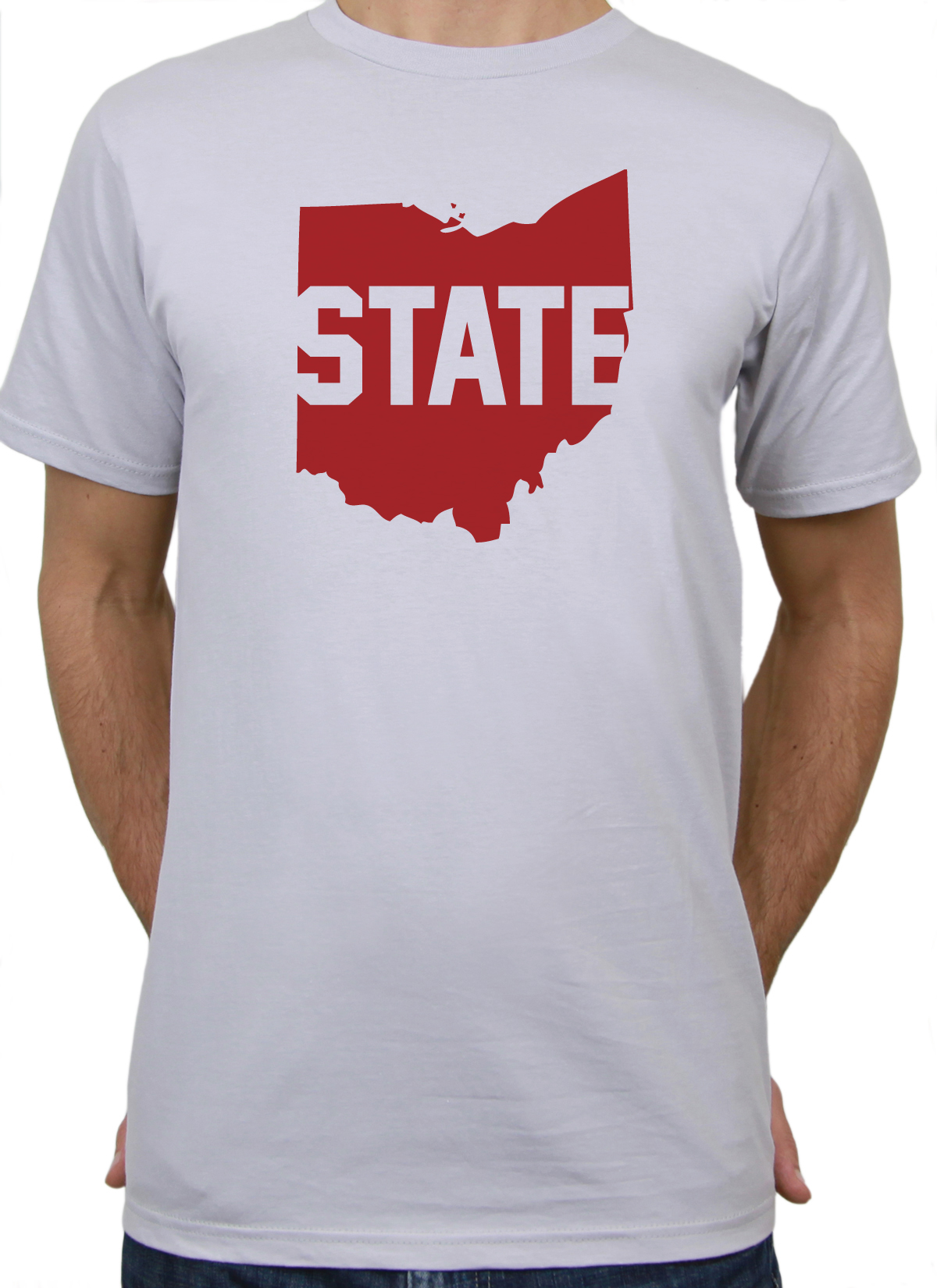 Ohio state t shirt mens barn eleven for Ohio state shirts mens